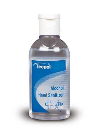 packshot of Teepol Alcohol Hand Sanitizer