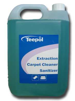 teepol extraction carpet shampoo