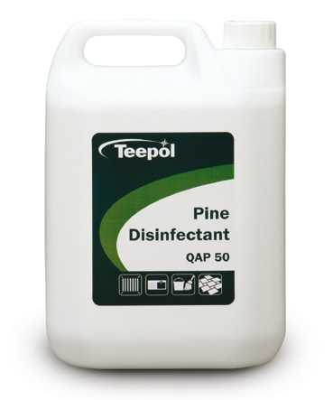 packshot of Teepol QAP 50 Pine Disinfectant